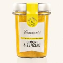 Composta limone e zenzero -...